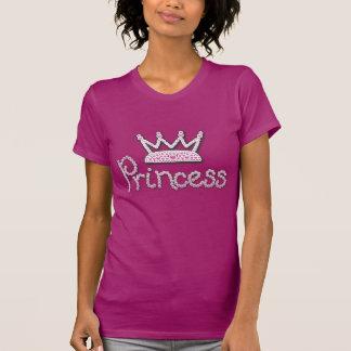 Das niedliche gedruckte Rosa perlt Prinzessin Crow Hemden
