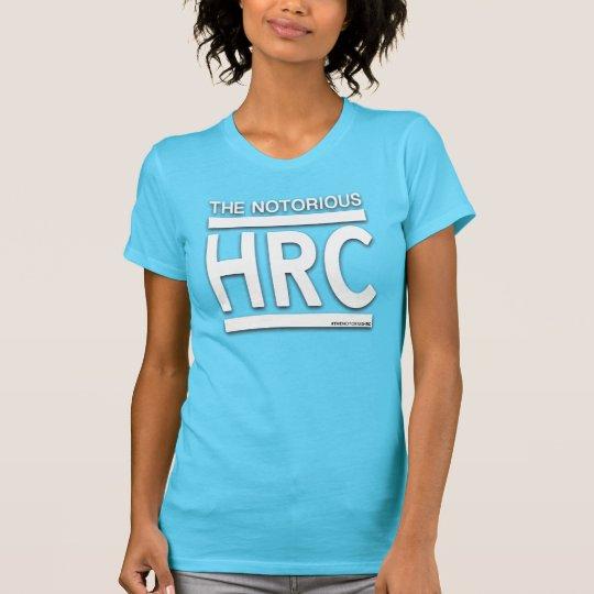 Das Notorius HRC aquamarin/Weiß T-Shirt