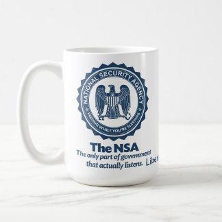 Das NSA Kaffeetasse