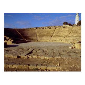 Das Odeon, Paphos, Zypern Postkarte