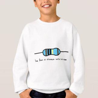 Das Ohm ist mit diesem stark Sweatshirt