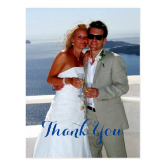 Das Paar-Hochzeits-Geschenk danken Ihnen Postkarte