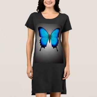 Das Papilio Ulysses Schmetterlings-Shirt-Kleid Kleid