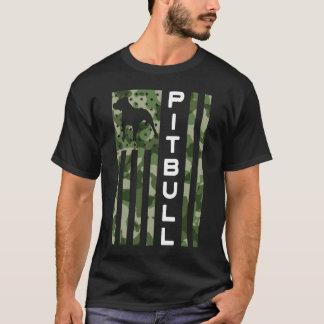 Das Pitbull der Männer stolzes T-Shirt