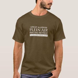 Das Plein der Männer großer alaskischer T-Shirt