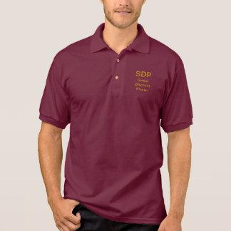 Das Polo-Shirt der Männer liest älteren Rabatt SDP Polo Shirt