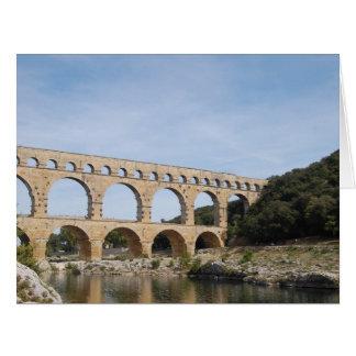 Das Pont DU Gard, Frankreich Karte