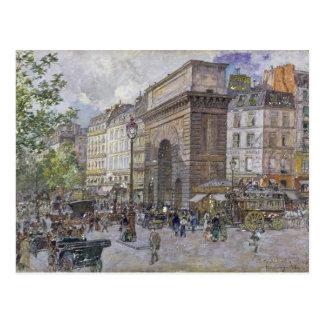 Das Porte St Martin, 1898 Postkarte