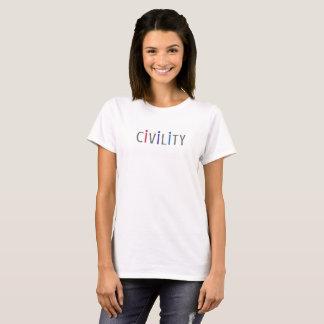 Das positive T-Shirt der Frauen für zivile Bürger