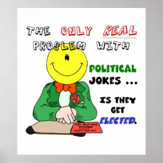 Das Problem mit politischen Witzen (1) Poster