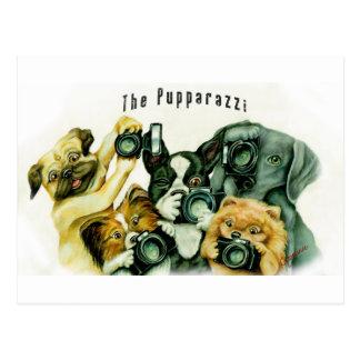 Das Pupparazzi Postkarte