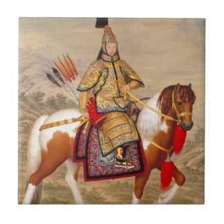 Das Qianlong der China Kaiser 乾隆帝 in der Keramikfliese