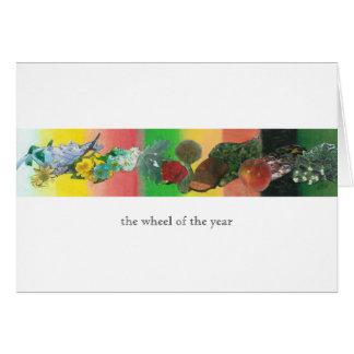 Das Rad des Jahres Karte