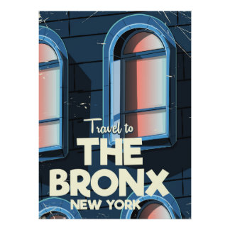 Das Reiseplakat Bronx New York City Poster
