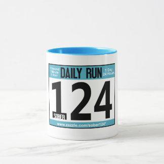 Das Rennen-Umbau-Kaffee-Tasse des Läufers Tasse