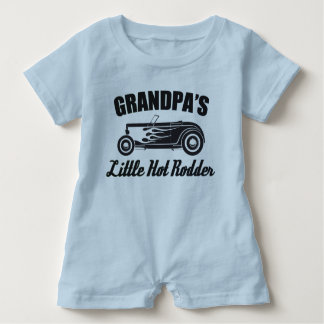 Das Rodder HotRod des Großvaters wenig heißes Baby Strampler