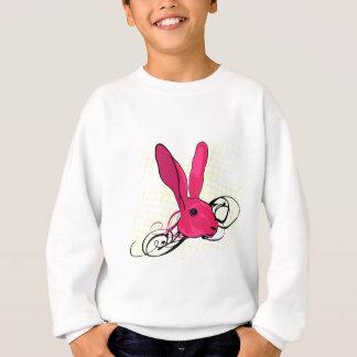 Das rosa Kaninchen Sweatshirt
