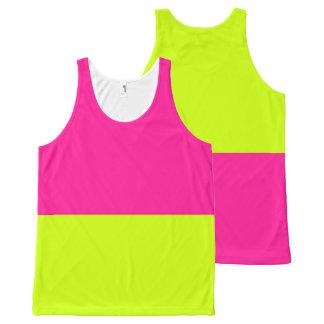 das rosa Limonade-Trägershirt Komplett Bedrucktes Tanktop