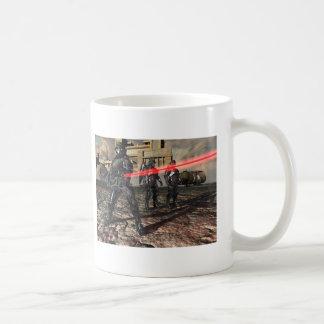 Das rote Laser-Gewehr Kaffeetasse