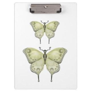 Das Schmetterlings-Projekt Klemmbrett
