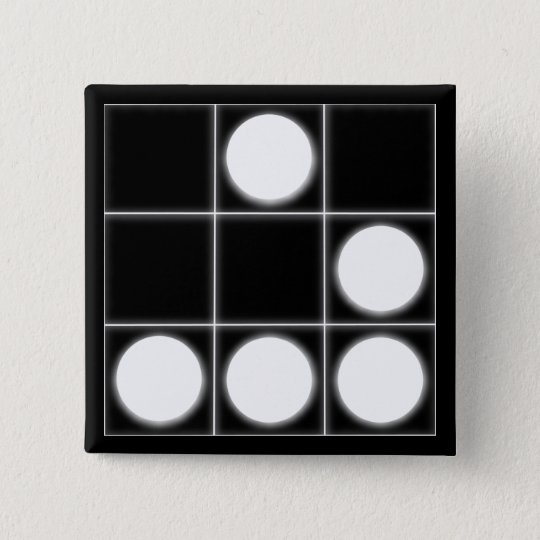 Das Segelflugzeug: Ein universeller Hacker Quadratischer Button 5,1 Cm