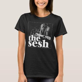 """""""Das sesh"""" der Frau Logo-Schwarzes T-Shirt"""