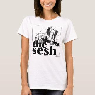 """""""Das sesh"""" der Frau Logo-Weiß T-Shirt"""