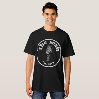 """""""Das sesh"""" der Männer Wappen-schwarzer T - Shirt"""
