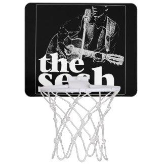 """das sesh"" MiniBasketballkorb (Schwarzes) Mini Basketball Netz"