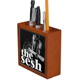 """""""das sesh"""" Schreibtisch-Organisator (Schwarzes) Stifthalter"""