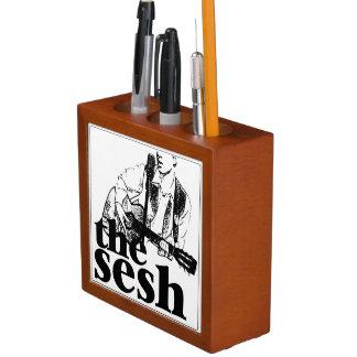 """""""das sesh"""" Schreibtisch-Organisator (weiß) Stifthalter"""