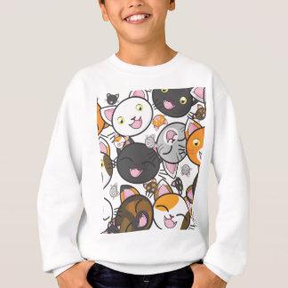 Das Shirt/das Sweatshirt des Kawaii