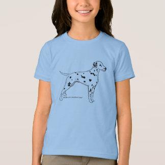 Das Shirt der Dalmatiner-Kinder --
