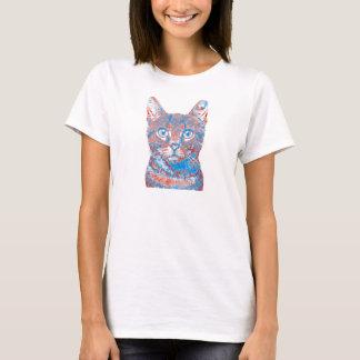 Das Shirt der Katzen-Gesichts-Frauen