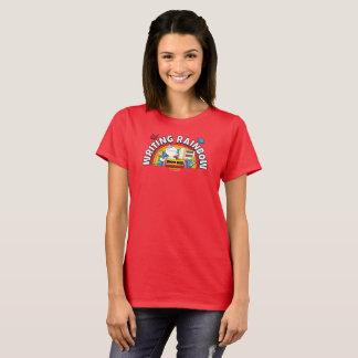 Das Shirt der Schreibens-Regenbogen-Frauen