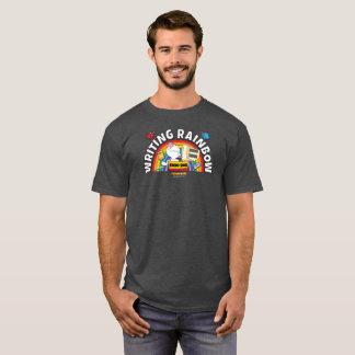 Das Shirt der Schreibens-Regenbogen-Männer
