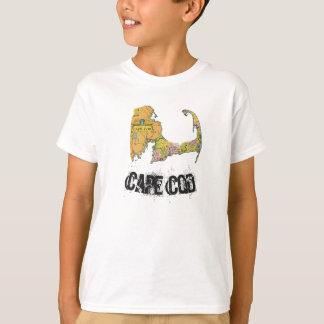Das Shirt des Cape- Codkarten-Jungen