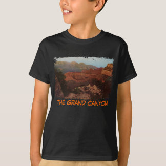 Das Shirt des Grand- Canyongemalte Kindes