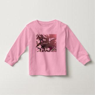Das Shirt des Kirschblüten-Hafen-Kleinkindes
