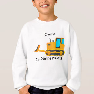 Das Shirt des Planierraupen-Kindes