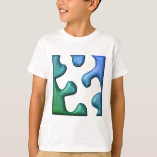 Das Shirt des Puzzlespiel-Entwurfs-Kindes