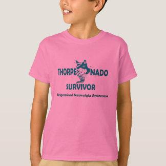 Das Shirt des Thorpenado Überlebend-Kindes