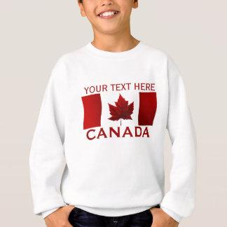Das Shirt-Kanada-Flaggen-des Kindes Kanada-Kindes Sweatshirt