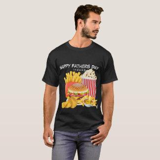 Das Shirt-schneller Feinschmecker-der glückliche T-Shirt