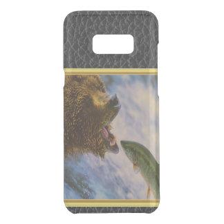 Das StahlkopfLachsspringen in Grizzlybären mouth Get Uncommon Samsung Galaxy S8 Plus Hülle