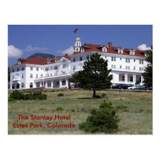 Das Stanley-Hotel Postkarte