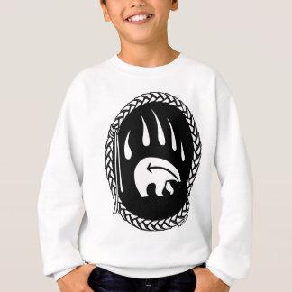 Das Sweatshirt-Bärentatze-Shirt des Stammes- Sweatshirt