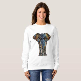 Das Sweatshirt der aztekischen Elefant-Frauen