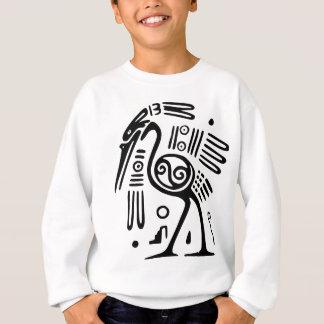 Das Sweatshirt der Kinder mit Mayavogel-Entwurf