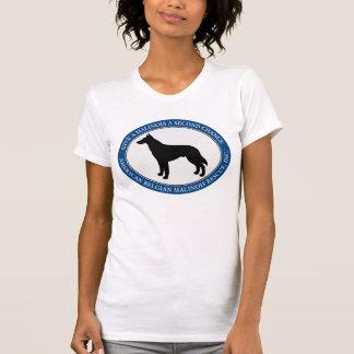 Das T-Shirt ABMR Malinois der Frau Logo
